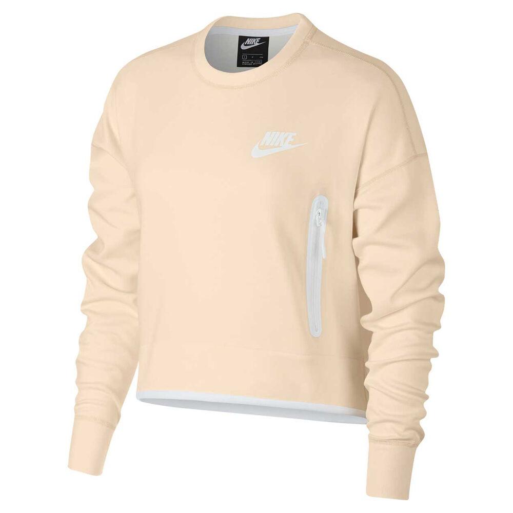 c5cfaa9952c3 Nike Sportswear Womens Tech Fleece Crew Sweater