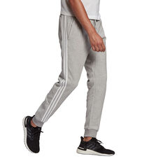 Adidas Mens FI 3 Stripes Pants Grey S, Grey, rebel_hi-res