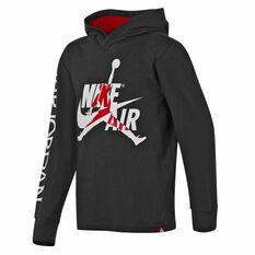 Nike Jordan Jumpman Classics Hoodie Black / Red S, Black / Red, rebel_hi-res