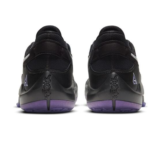 Nike Zoom Freak 2 Mens Basketball Shoes, Black/Silver, rebel_hi-res