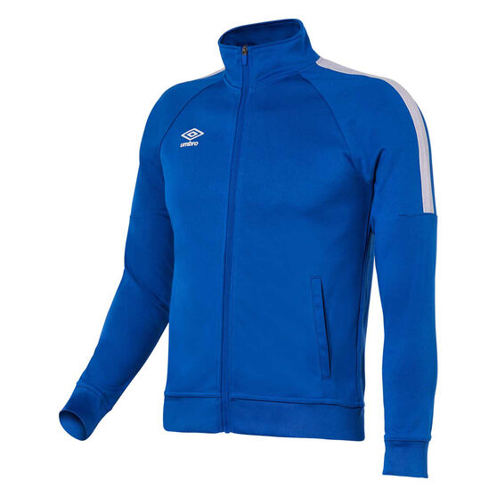 Umbro Teamwear Track Jacket, Royal Blue / White, rebel_hi-res