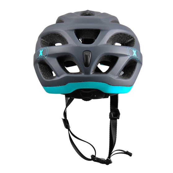 Goldcross Voyager Bike Helmet Grey / Teal L, Grey / Teal, rebel_hi-res