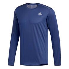 adidas Mens Own the Run Top Blue S, Blue, rebel_hi-res