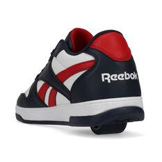 Reebok BB4500 Low Heelys, Navy/Red, rebel_hi-res