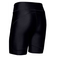 Under Armour Womens HeatGear Armour Bike Shorts Black XS, Black, rebel_hi-res
