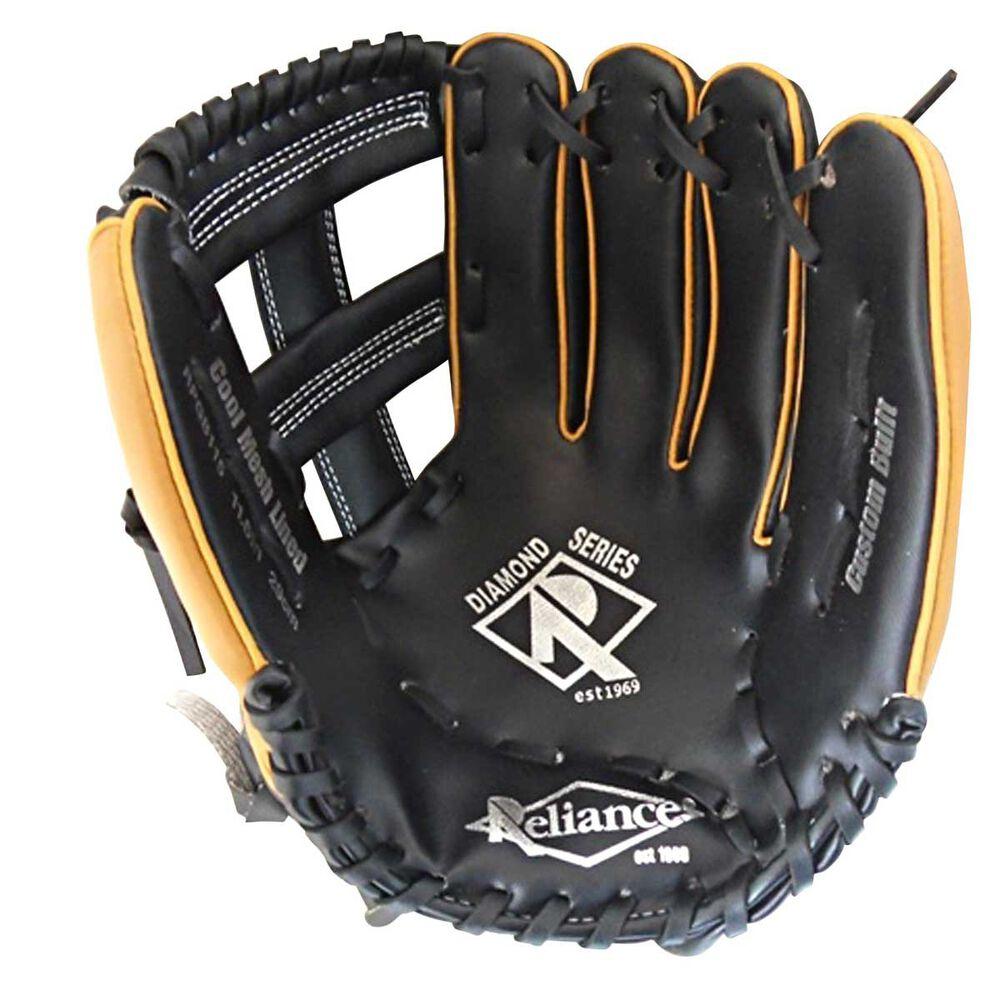 Rebel Sport Inner Gloves: Reliance Diamond 11.5in Left Hand Throw Baseball Glove