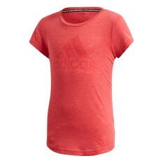 adidas Girls Must Have Essentials Tee, Pink, rebel_hi-res
