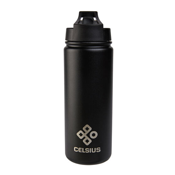 Celsius Victory Insulated 530ml Water Bottle Blue White, , rebel_hi-res