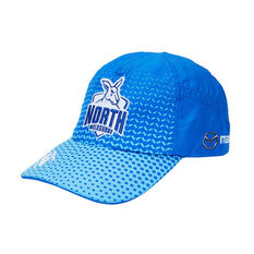 North Melbourne Kangaroos 2019 Training Cap Blue OSFM, Blue, rebel_hi-res