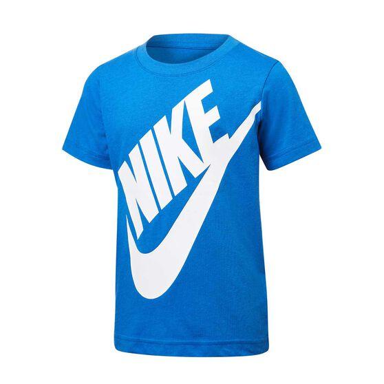 Nike Boys Jumbo Futura Tee, Royal Blue, rebel_hi-res