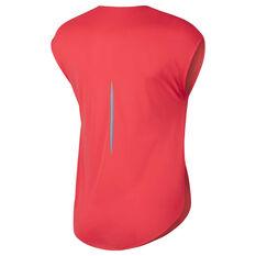 Nike Womens City Sleek Tee Red XS, Red, rebel_hi-res