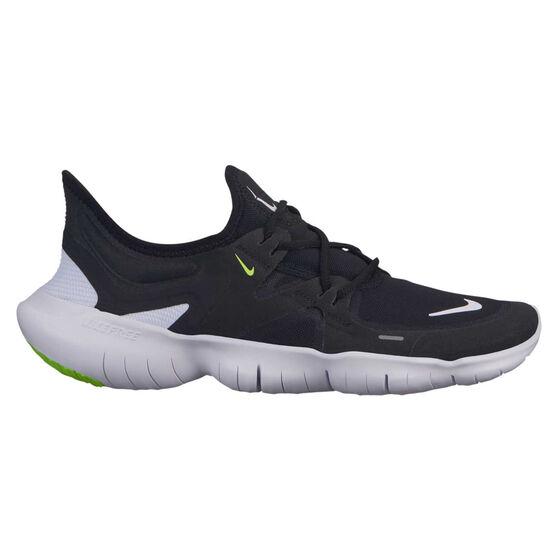 Nike Free RN 5.0 Womens Running Shoes, Black / White, rebel_hi-res