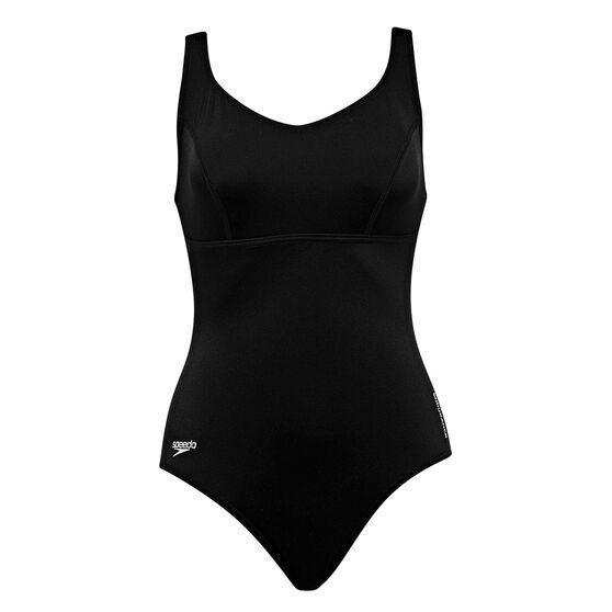 d02db98f7 Speedo Womens Endurance Contour Clipback Swimsuit