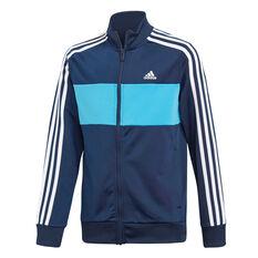1daeec3c8 ... adidas Boys Tiberio Tracksuit Navy   Blue 10