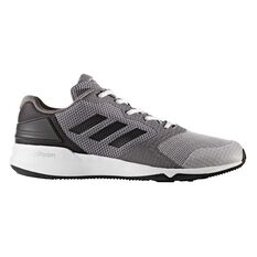 adidas Crazytrain 2 Cloudform Mens Running Shoes Grey / Black US 7, Grey / Black, rebel_hi-res