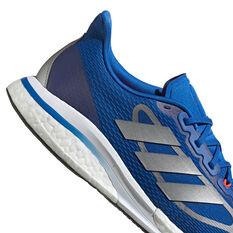 adidas Supernova+ Mens Running Shoes, Blue, rebel_hi-res