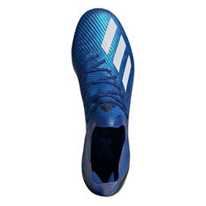 adidas X 19.1 SG Football Boots, Blue / White, rebel_hi-res