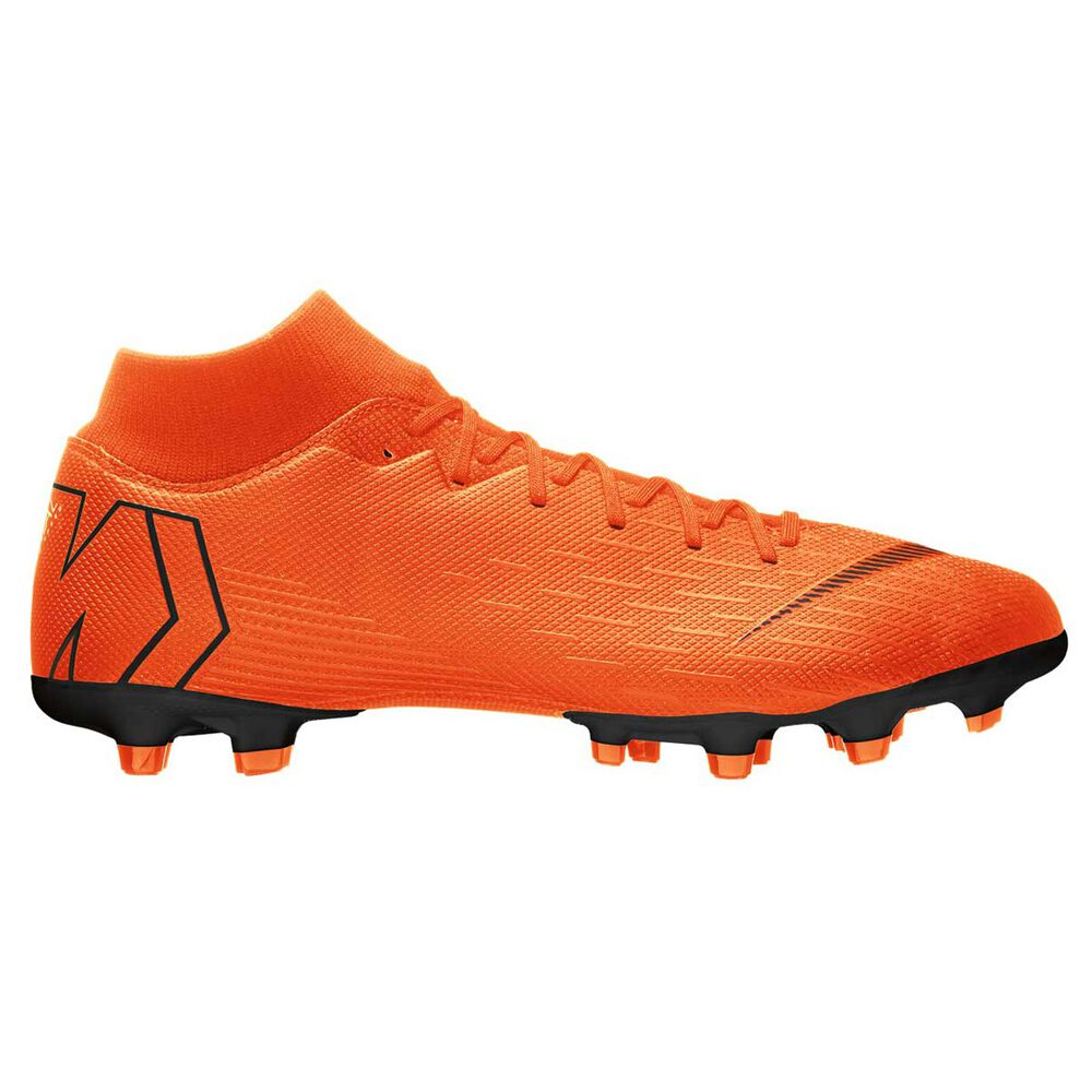 Nike Mercurial Superfly 6 Academy MG Mens Football Boots Orange   White US  11.5 Adult 75e00a5cd105