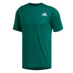 adidas Mens FreeLift Sport Prime Lite Tee Green S, Green, rebel_hi-res