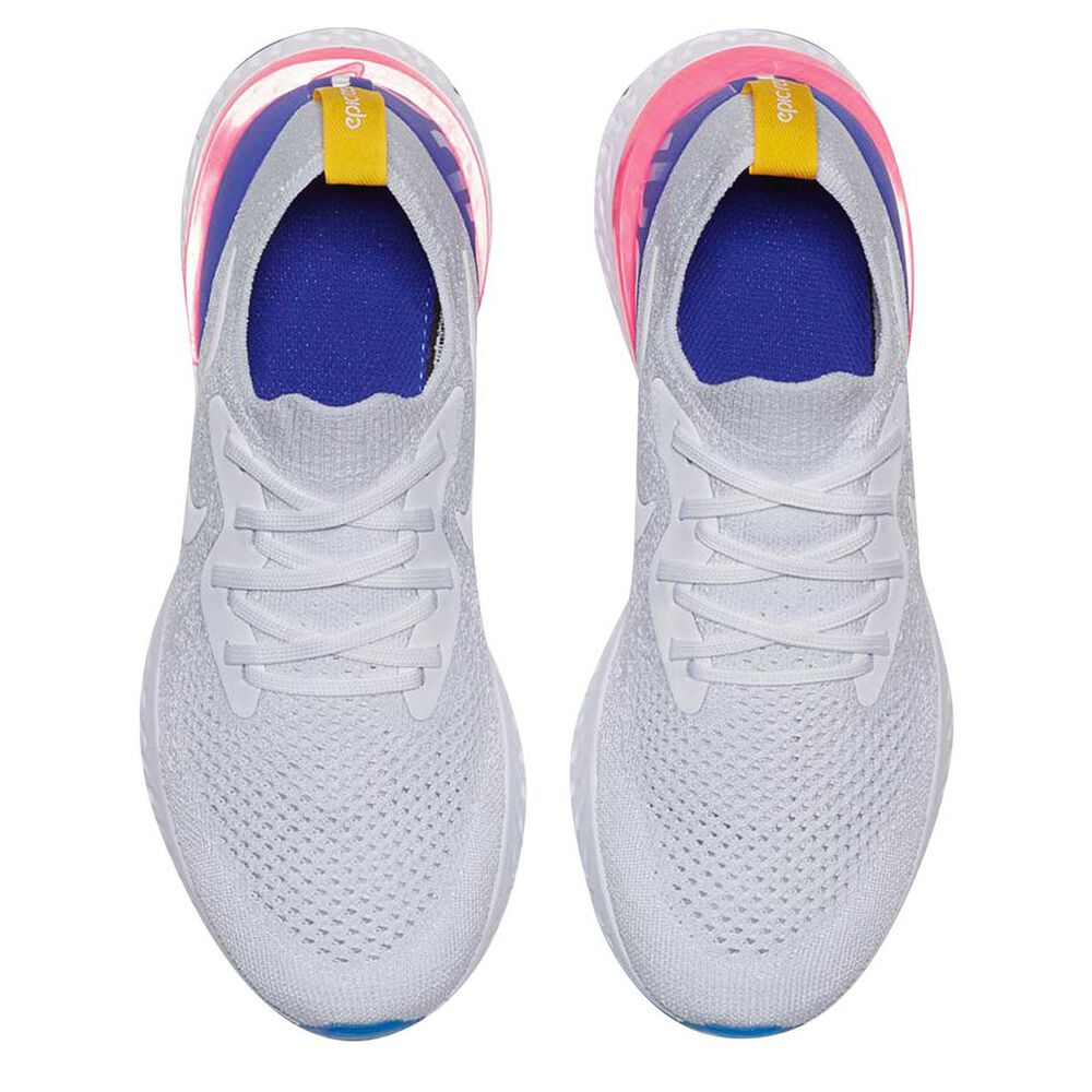 7e1a4b1c5450 Nike Epic React Flyknit Kids Running Shoes White US 7