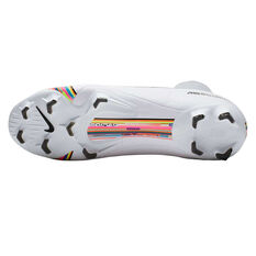 Nike Mercurial Superfly VI Pro Football Boots, White / Black, rebel_hi-res