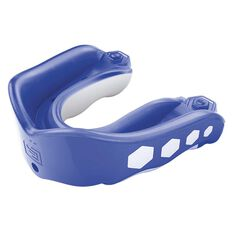 Shock Doctor Gel Max Raspberry Flavour Fusion Mouthguard Blue Adult, Blue, rebel_hi-res