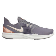 Nike In-Season 8 TR Premium Womens Training Shoes Brown / Grey US 6, Brown / Grey, rebel_hi-res