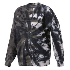 Running Bare Womens Legacy Crew Sweater Print XS, Print, rebel_hi-res