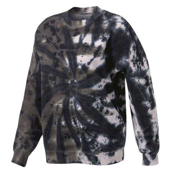 Running Bare Womens Legacy Crew Sweater, Print, rebel_hi-res