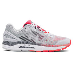 Under Armour HOVR Guardian Mens Running Shoes Grey / Red US 7, Grey / Red, rebel_hi-res