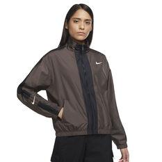 Nike Womens Sportswear Repel Jacket Brown XS, Brown, rebel_hi-res