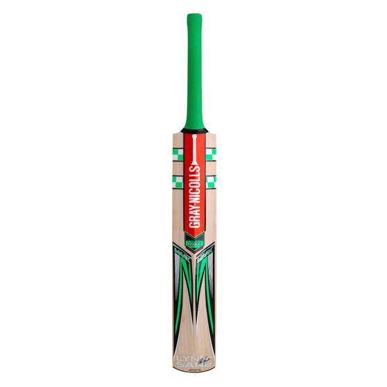 Gray Nicolls MAAX Lynn Sane Junior Cricket Bat, Green, rebel_hi-res