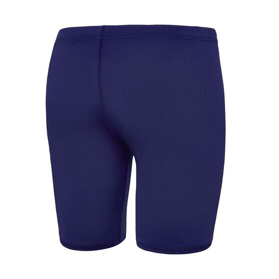 Speedo Mens Basic Waterboy Swim Shorts, Navy, rebel_hi-res