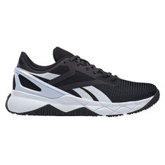 Reebok Nanoflex Womens Training Shoes Black/White US 6, Black/White, rebel_hi-res