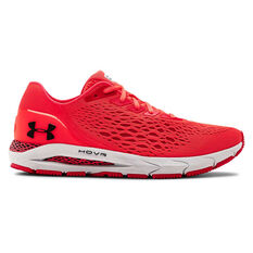 Under Armour HOVR Sonic 3 Mens Running Shoes Red/Black US 7, Red/Black, rebel_hi-res