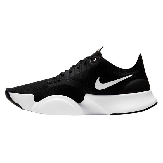 Nike SuperRep Go Mens Training Shoes, Black/White, rebel_hi-res