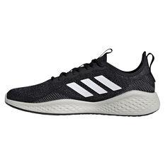 adidas Fluidflow Mens Casual Shoes Black/White US 7, Black/White, rebel_hi-res