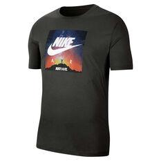 Nike Mens Sportswear Graphic Tee Green XS, Green, rebel_hi-res