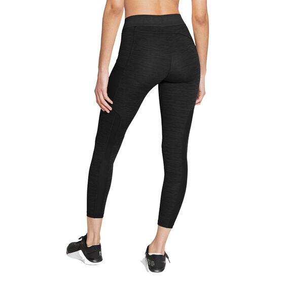 Nike Pro Womens 7/8 Tights, Black, rebel_hi-res