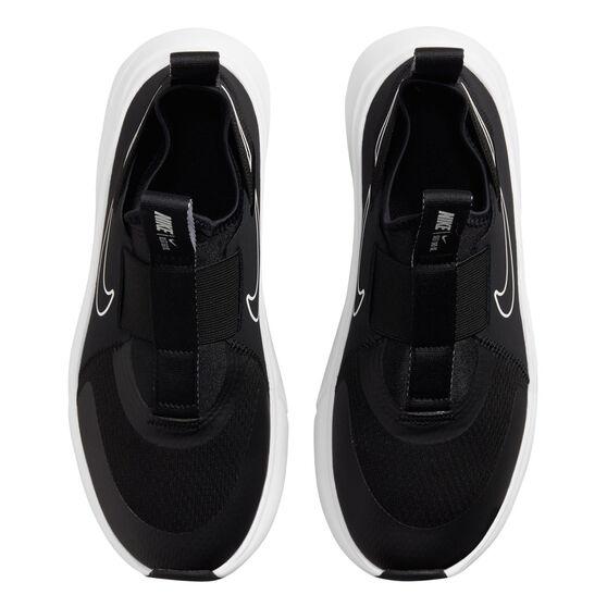 Nike Flex Plus Kids Running Shoes, Black/White, rebel_hi-res