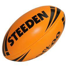 Steeden NRL Softee Rugby League Ball Orange 11in, , rebel_hi-res