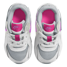 Nike Air Max Excee Toddlers Shoes, White/Grey, rebel_hi-res