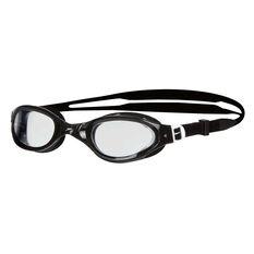 Speedo Futura Plus Senior Swim Goggles Black / Clear, , rebel_hi-res