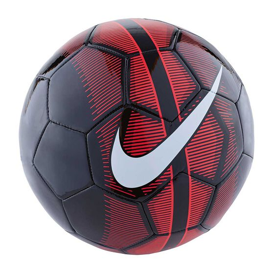 f8781340c35 Nike Mercurial Fade Soccer Ball Black   Red 3