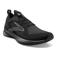 Brooks Levitate StealthFit 5 Mens Running Shoes, Black/Grey, rebel_hi-res