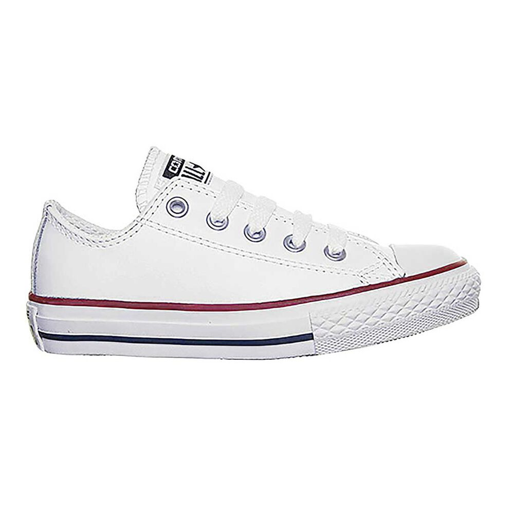 ad642d24e9b9 Converse Chuck Taylor All Star Lean Kids Casual Shoes White   Red US ...