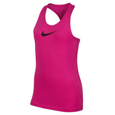 Nike Girls Pro Training Tank, Pink, rebel_hi-res