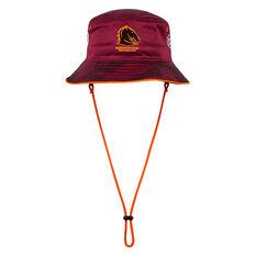 Brisbane Broncos 2021 Bucket Hat, , rebel_hi-res