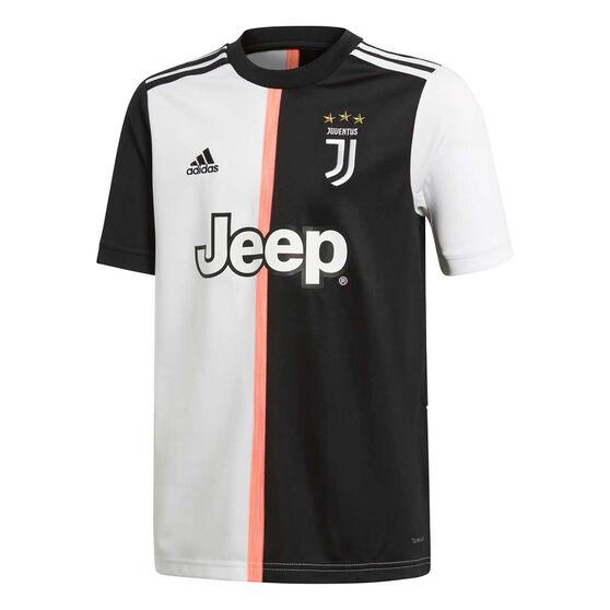 Juventus FC 2019/20 Kids Home Jersey Black / White 16, Black / White, rebel_hi-res