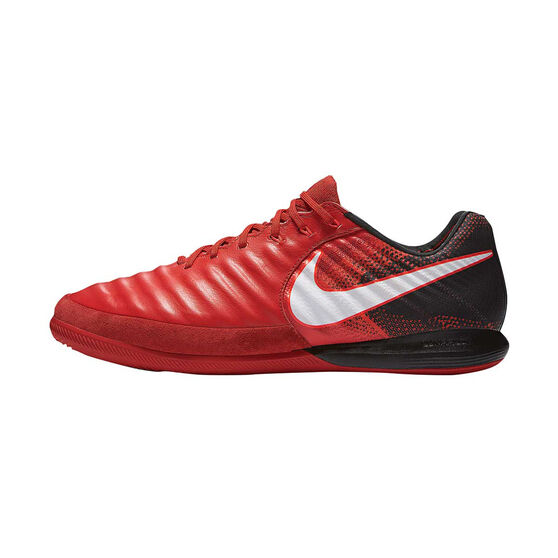 5f3aff61b1b Nike TiempoX Proximo II Mens Indoor Soccer Shoes Red   White US 11 Adult